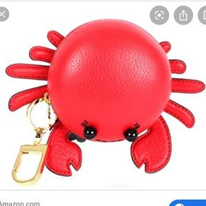 Tory Burch Carl the Crab Keychain